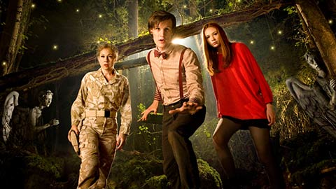 Doctor Who and his team thumbnail